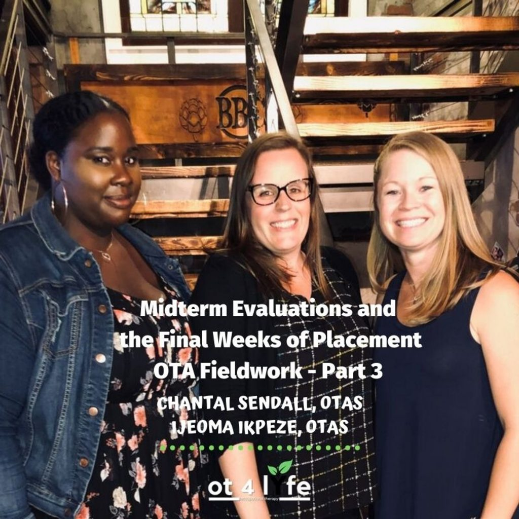 Midterm Evaluations and the Final Weeks of Placement - OTA Fieldwork: Part 3 of 4