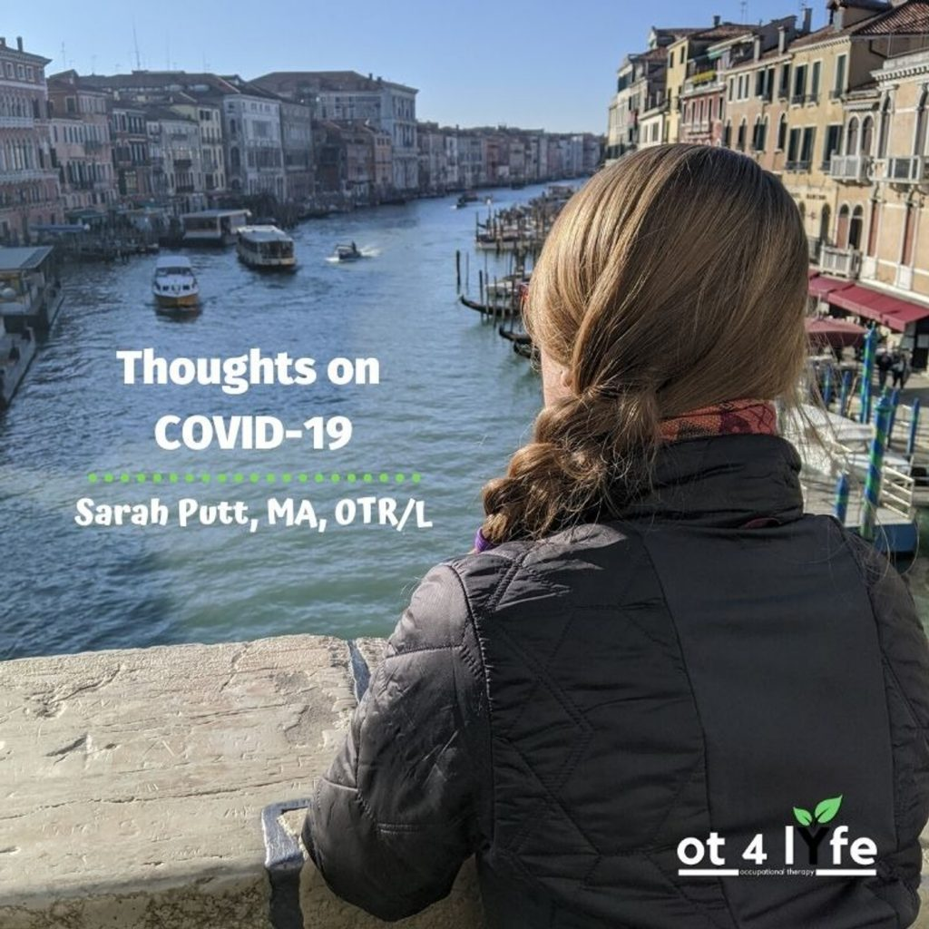 Thoughts on COVID-19 with Sarah Putt